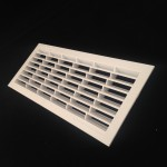 B151 RECTANGULAR VENT 299mm x 120mm