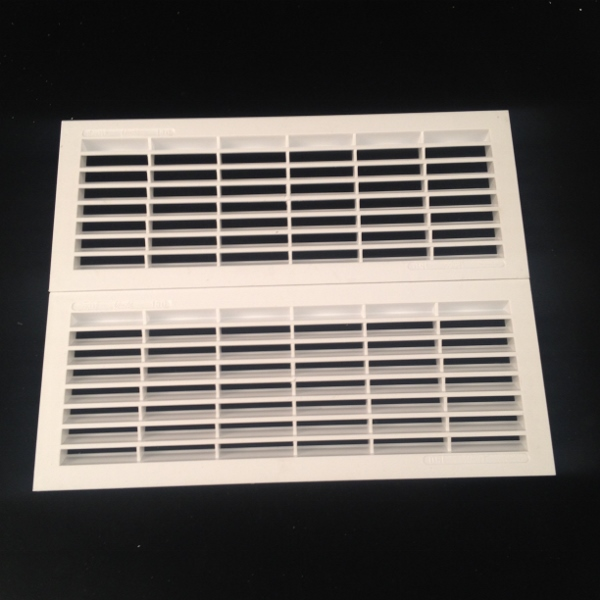 B151 x2 RECTANGULAR VENT x 2 JOINED 299mm x 240mm
