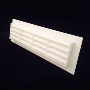 B300-WH (WHITE 300x90mm RECTANGULAR VENT) ANGLE