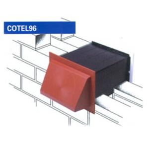 """COTEL96 9 x 6"""" COWLED VENT SET"""