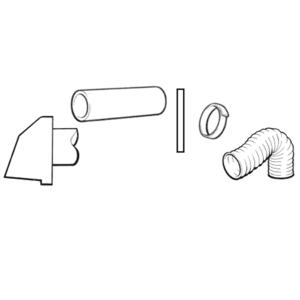 KIT420 (BASIC DUCTING KIT + 2m FLEXI DUCTING) SCHEMATIC