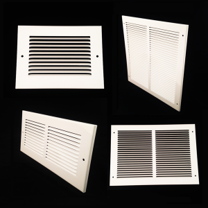 MV1006 254mm x 152mm METAL VENT
