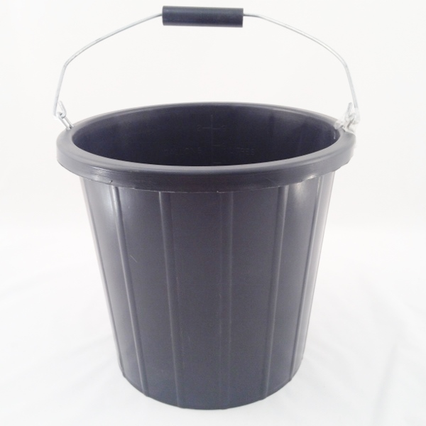 PB1002-BK 2 GALLON BUILDERS BUCKET BLACK