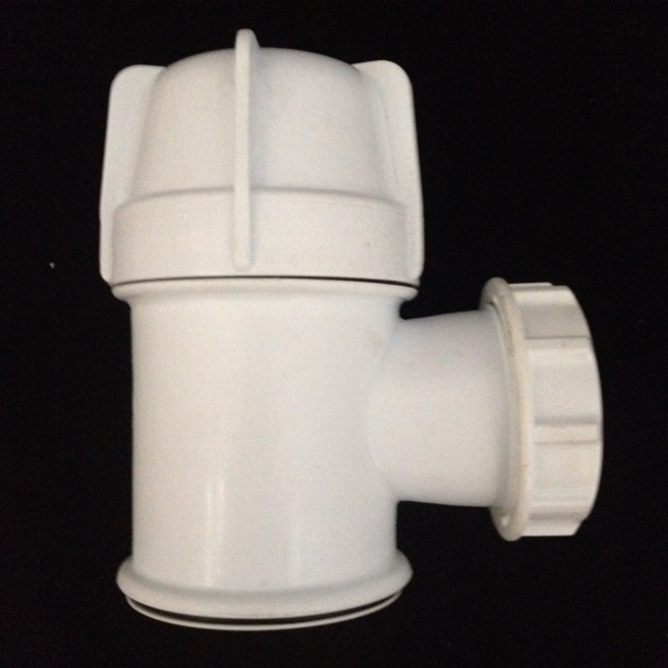 PB3124-40P 40mm SHOWER TRAP WITH PLASTIC GRID