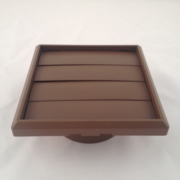 100mm x 150mm sq GRAVITY VENT