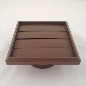 125mm X 160mm sq GRAVITY VENT